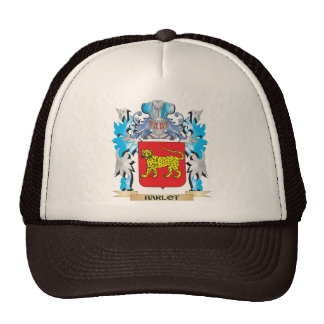 Harlot Coat of Arms - Family Crest Trucker Hats