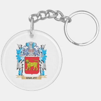 Harlot Coat of Arms - Family Crest Key Chain