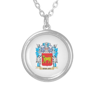 Harlot Coat of Arms - Family Crest Custom Necklace