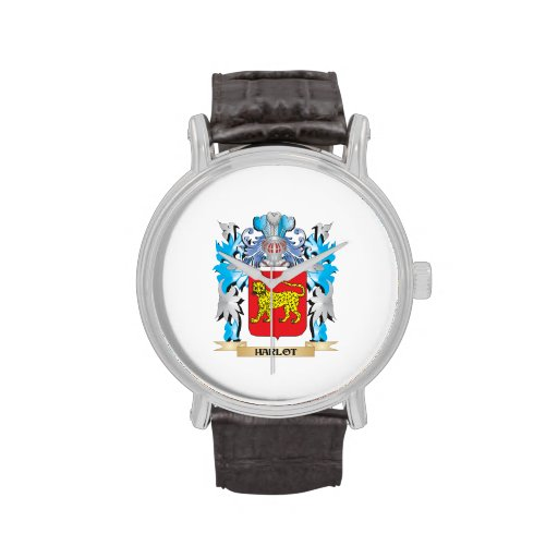 Harlot Coat of Arms - Family Crest Wristwatch