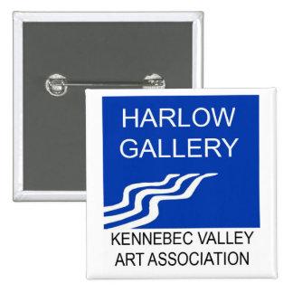 Harlow Gallery/KVAA Logo Button