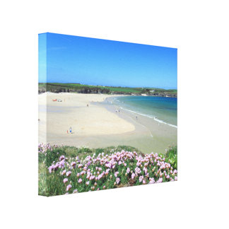 Harlyn Bay Canvas Print