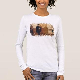 Harmensz van Rijn Rembrandt (1606-69) Knocking on Long Sleeve T-Shirt