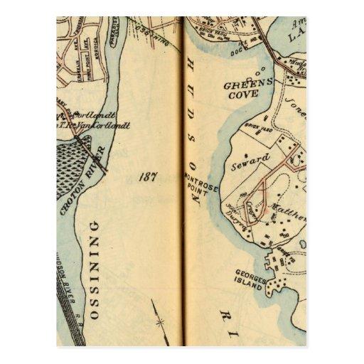 Harmon Park, New York Post Card