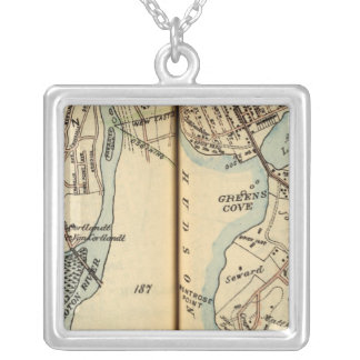 Harmon Park, New York Silver Plated Necklace