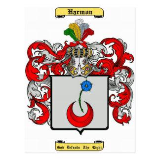 harmon postcard