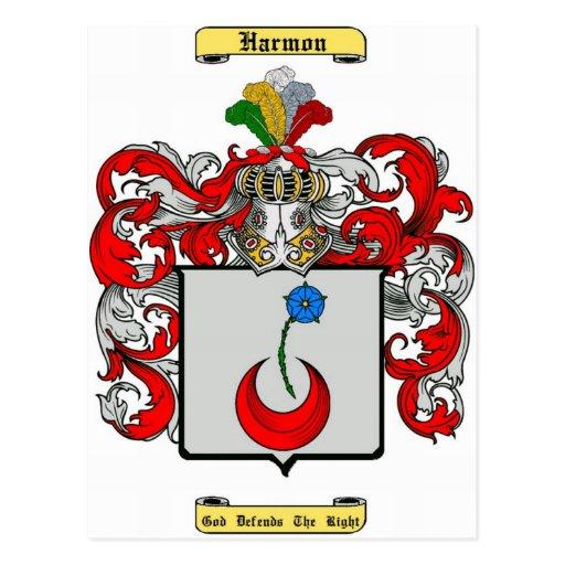harmon post card