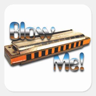 Harmonica - Blow me sticker