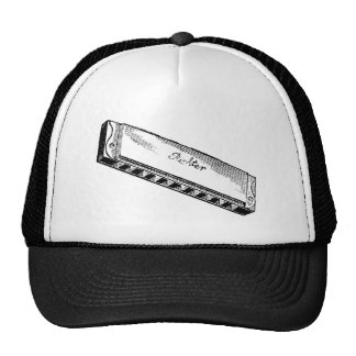 Harmonica/Blues Harp Cap