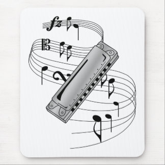 Harmonica Mouse Mat
