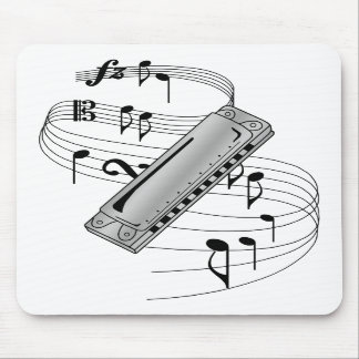 Harmonica Mouse Pads