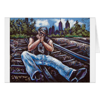 HARMONICA RAILROAD CARD