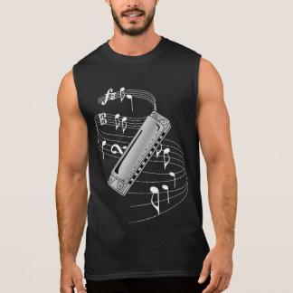Harmonica Sleeveless Tees