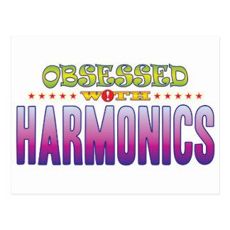 Harmonics 2 Obsessed Postcard