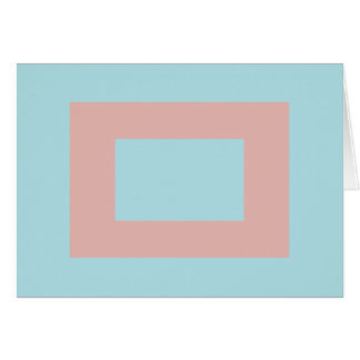 Harmonious Color Combination Mix Template Greeting Card