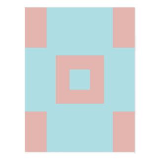 Harmonious Color Combination Mix Template Postcard