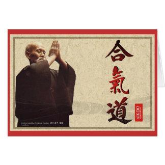 harmonious spirit greeting card