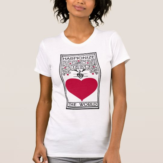 Harmonise The World Music Lovers T-Shirt