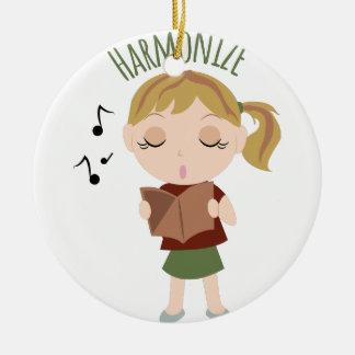 Harmonize Girl Christmas Ornament