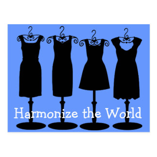 Harmonize the World! Postcard
