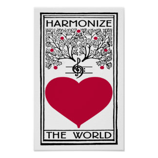 Harmonize The World Poster