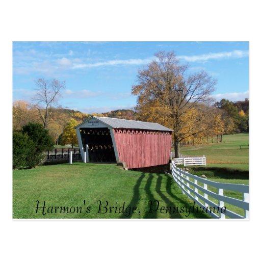Harmon's Bridge Postcard