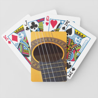Harmony Acoustic Guitar Bicycle Playing Cards