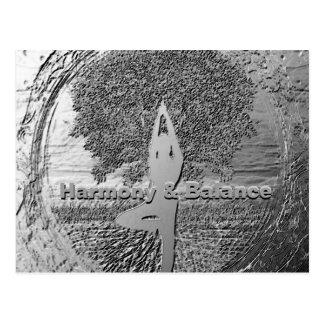 Harmony and Balance Postcard