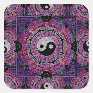 Harmony & Balance Purple Mandala Stickers