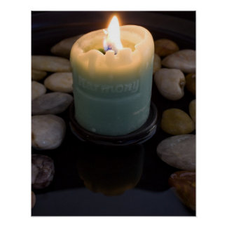 Harmony Candle Poster