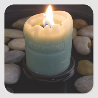 Harmony Candle Square Sticker