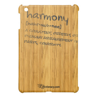Harmony. Defined. Cover For The iPad Mini