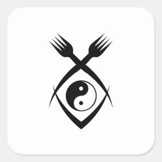Harmony Food Square Sticker