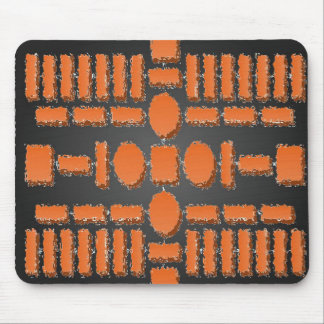 HARMONY  -  Futuristic Stepping Stone Patterns Mouse Pad