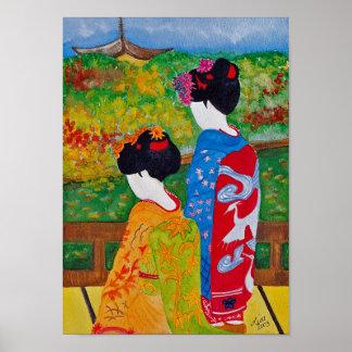 Harmony Geisha Print