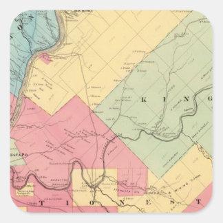 Harmony, Hickory, Kingsley, Tionesta townships Sticker