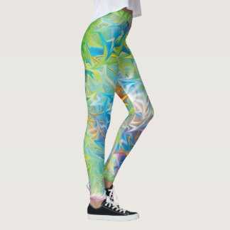 Harmony in Action with Sacred Geometry Leggings
