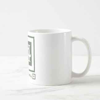 Harmony in Green Coffee Mug
