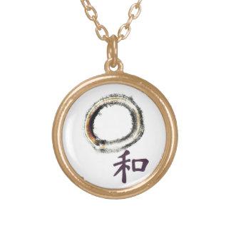 Harmony in Purple - Zen Enso Necklaces