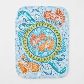 Harmony of the seas ,boho,hippie,bohemian burp cloth