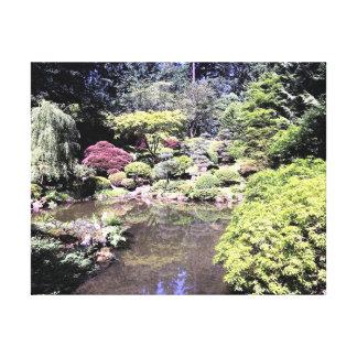 Harmony Pond Canvas Print