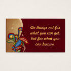 Harmony Swirl Affirmation /Business Cards