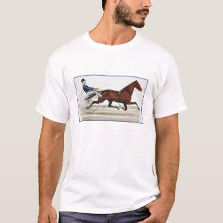 Harness Horse Racer - Vintage Fine Art T-Shirt