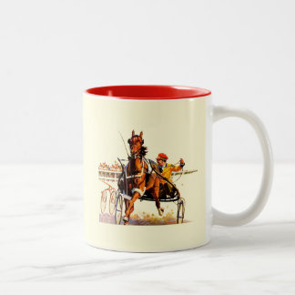 Harness Race Two-Tone Coffee Mug