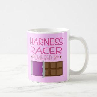 Harness Racer Chocolate Gift for Her Basic White Mug
