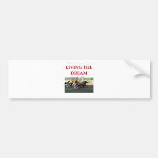 harness racing bumper stickers