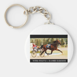 Harness Racing Key Ring