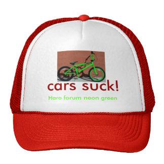 HaroForumIntroLiteNeon, cars suck!, Haro forum ... Cap