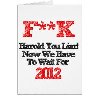 harold greeting card