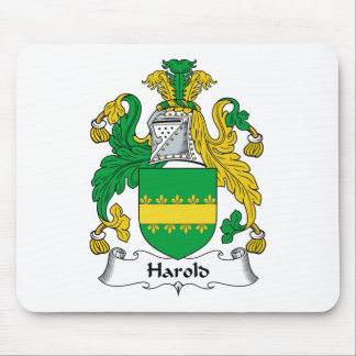 Harold Family Crest Mouse Mats